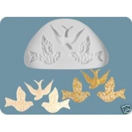 Silikónová formička 3 holubičky -