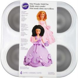 Forma kupoly sukienok k bábikám - Wilton