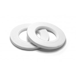 Začišťovacia floristická páska biela - polená 6 mm - Hemilworth UK