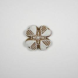 Vykrajovátko čtyřlístek (nerez) 4 cm - Kovovýroba Petr Jandejsek