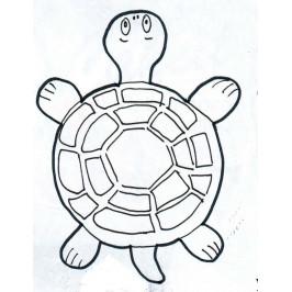 Sada vykrajovátek - želva s krunýřem -