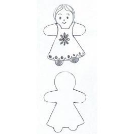Vykrajovátko - Panenka mini -