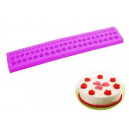 Silikonová formička perličky (korálky) kulaté  0,6 - 1 cm - ORION domácí potřeby