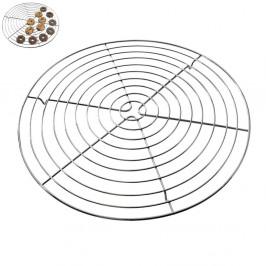 Podložka - mřížka drátěná na chlazení korpusů a cukroví kulatá 32,5 cm -