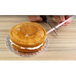 Plastové sloupky na vyztužení dortů Easy Cut 40 cm - 8 ks - PME