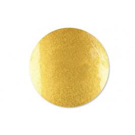 Dortová podložka zlatá 30,5 cm, síla 12 mm - FunCakes