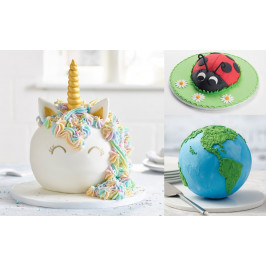 Forma na pečenie pologule a gule - Ball Pan (Hemisphere) Ø 16 cm - PME