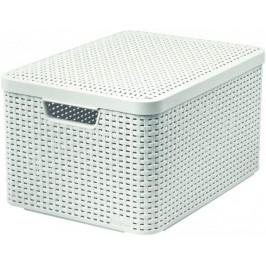 Makro 82289 Box Style biely L umelá hmota