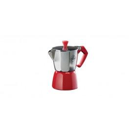 Tescoma PALOMA Colore 647023.20 Kávovar PALOMA Colore, 3 šálky - červená