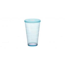 Tescoma myDRINK 308806.30 Pohár s viečkom myDRINK 600 ml - modrá