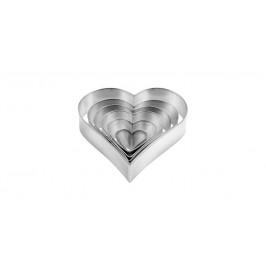 Tescoma Delícia 631362.00 Vykrajovače - srdce  DELÍCIA, 6 ks