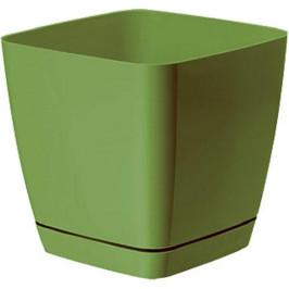 Strend Pro 255039 Kvetinac Toscana square, 19x18,5 cm, 5,0 lit., olivový