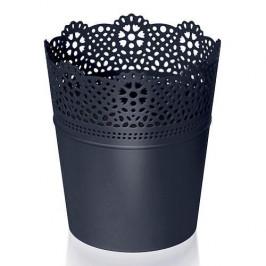 Strend Pro 255359 Kvetinac LACE 180 mm, čierny