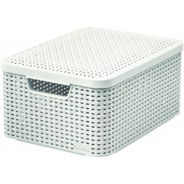 Makro 82288 Box STYLE biely M umelá hmota
