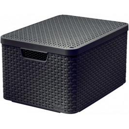 Makro 82290 Box UH style hnedý L