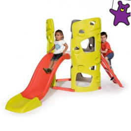 Smoby preliezačka Multi-Activity Tower so šmykľavkou 402041