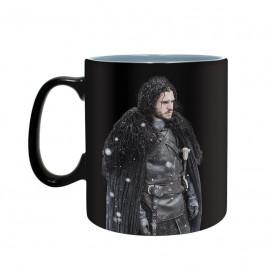 Hrnček Game of Thrones – Zima je tu meniaci sa 460ml M00185