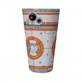 Sklenený pohár Star Wars – BB8 400ml M00111