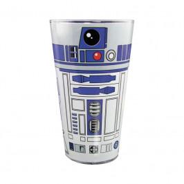 Sklenený pohár Star Wars – R2D2 400ml M00109