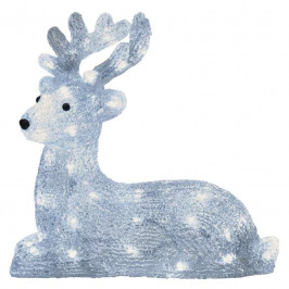 Emos Vianočná dekorácia LED jelenček s časovačom 40LED ZY2275