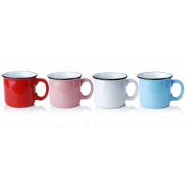 Makro 88782 Hrnček keramika EMALIA 420ml mix farieb