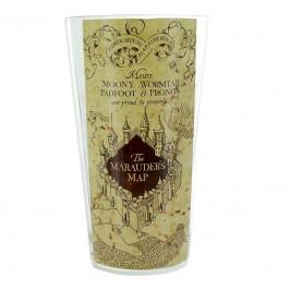 Sklenený pohár Harry Potter – Záškodnícka mapa 400ml M00473