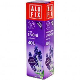 Alufix 43,09 Vrecia zaťahovacie na odpad voňavé 40l/12ks, LEVANDUĽA
