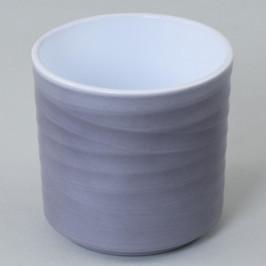 Florasystém Cylinder lasur sivý 11,7xv13cm 34138