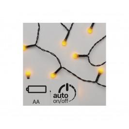 EMOS LED Vianočná reťaz 20xLED/0,72W/3V 1,5 m