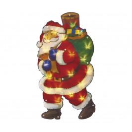 EMOS LED Vianočná dekorácia do okna SANTA 20xLED/1,28W/4,5V
