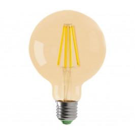 Brilum LED Žiarovka LEDSTAR AMBER G80 E27/8W/230V 2200K