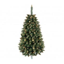 ANMA Vianočný stromček GOLD 220 cm borovica