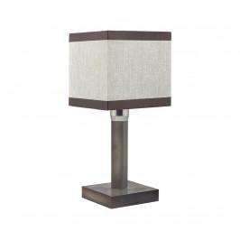 TK Lighting Stolná lampa LEA GRAY 1xE27/60W/230V