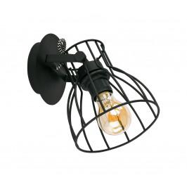TK Lighting Bodové svietidlo ALANO BLACK 1xE27/60W/230V