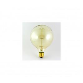 Baterie centrum Dekoračná stmievateľná žiarovka VINTAGE G125 E27/40W/230V
