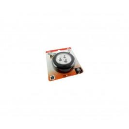 Baterie centrum LED Nočné dotykové svetlo LED/0,2W/3xAAA čierna