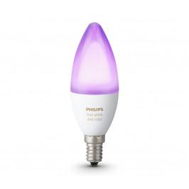 Philips LED RGB Stmievateľná žiarovka Philips HUE WHITE AND COLOR AMBIANCE E14/6W/230V 2200