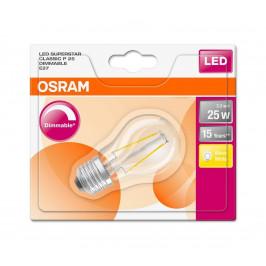 Osram LED Stmievateľná žiarovka FILAMENT E27/3,3W/230V 2700K