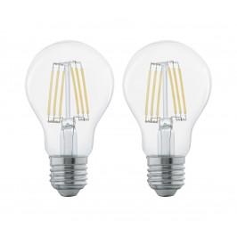 Eglo SADA 2x LED žiarovka FILAMENT CLEAR E27/6W/230V