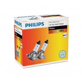 Philips SADA 2x Autožiarovka Philips VISION 12972PRC2 H7 PX26d/55W/12V