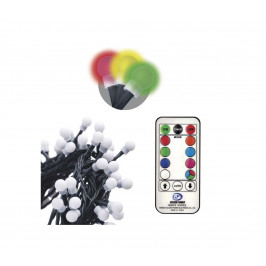 EMOS LED Dekoračná reťaz s diaľkovým ovládačom CHAIN 96xLED/3,6W/230V IP44
