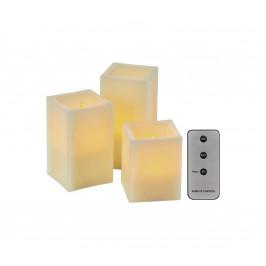 EMOS LED Dekoračné sviečky 3xLED/0,06W/3xAAA + diaľkové ovládanie