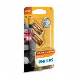 Philips SADA 2x Autožiarovka Philips VISION 12396B2 W2,1x9,5D/5W/12V