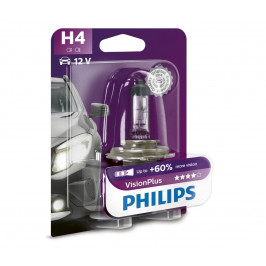 Philips Autožiarovka Philips VISION PLUS 12342VPB1 H4 P43t