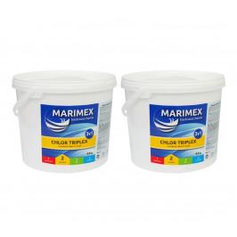 Marimex Chlor Triplex 3v1 4,6 kg  - sada 2 ks