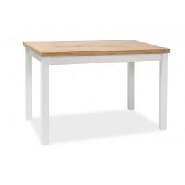 Signal Jedálenský stôl Adam Dub Lancelot / Biely Mat 100 x 60