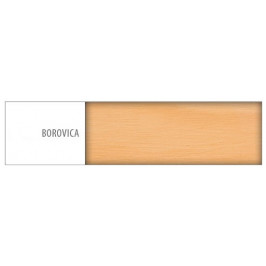 Drewmax Posteľ - masív LK125 | 90cm borovica Drevo: Borovica
