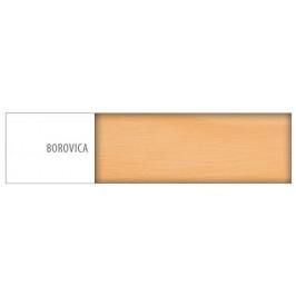 Drewmax Posteľ - masív LK128 | 100cm borovica Drevo: Borovica