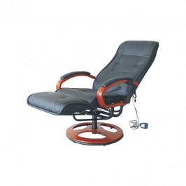 Tempo Kondela Elektrické masážne kreslo ARTUŠ 2 ARTUS: Elektrické masážne kreslo / split koža / ekokoža čierna