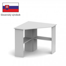 Tempo Kondela PC stôl RONY NEW Farba: Biela